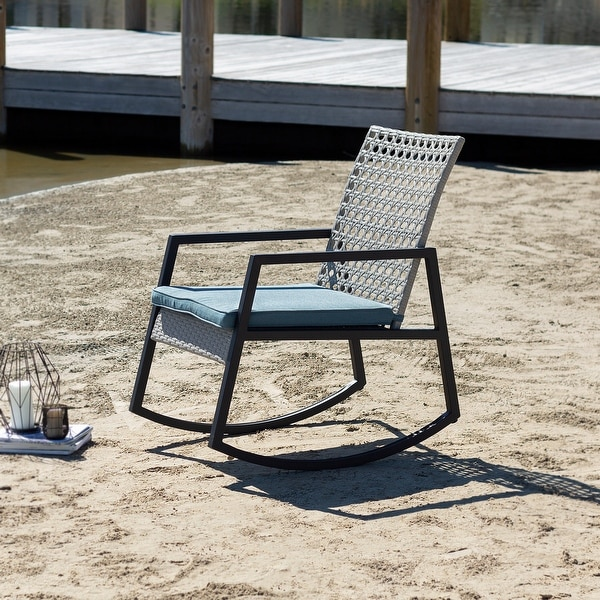 Havenside Home Point Lay Rocking Chair. Opens flyout.