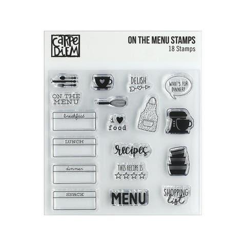 10435 simple stories carpe diem stamp on the menu
