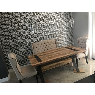 Furniture Of America Telara Contemporary Tufted Wingback