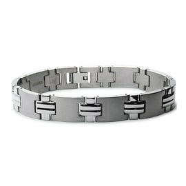Titanium Men's Link Bracelet 8.5 Inches