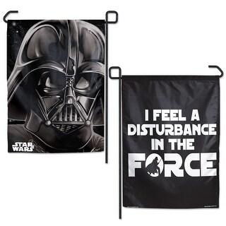 "Star Wars Original Trilogy Darth Vader 2-Sided 12.5"" x 18"" Garden Flag"