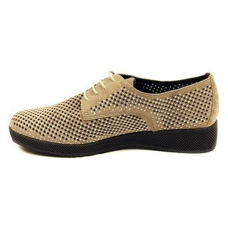 VANELi Womens aleria Suede Closed Toe Oxfords
