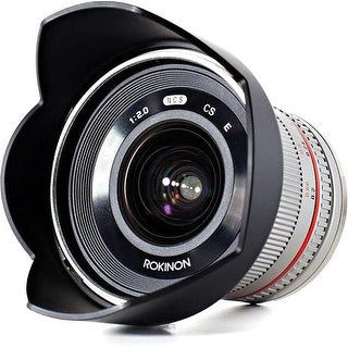 Rokinon 12mm f/2.0 NCS CS Lens for Sony E-Mount (Silver)