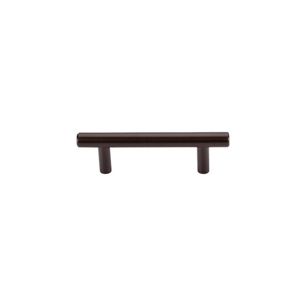 """Top Knobs M757a Hopewell 3"""" Center to Center Bar Cabinet Pull from the Bar Pulls Series - Oil Rubbed bronze - n/a"""