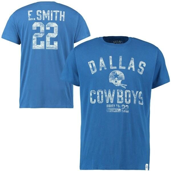 Dallas Cowboys Emmitt Smith Gordon Tshirt Xlarge