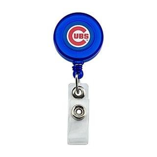 Chicago Cubs Retractable Badge Reel Id Ticket Clip MLB