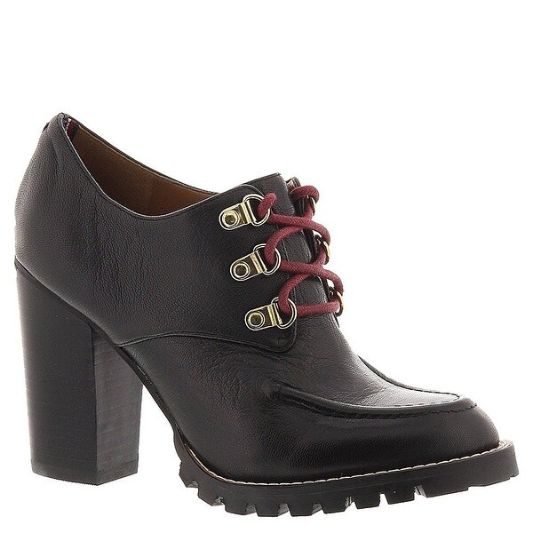 Tommy Hilfiger Womens Middlebury Leather Closed Toe Ankle Fashion Boots Fashi...