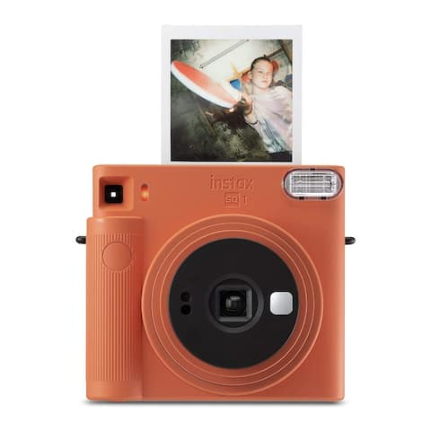 Fujifilm Instax Square SQ1 Instant Camera (Terracotta Orange)