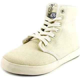 Movmt Marcos Hi Youth Canvas Ivory Fashion Sneakers