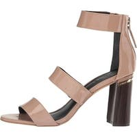 M4DE Womens Belfast Leather Open Toe Casual Ankle Strap Sandals - 10