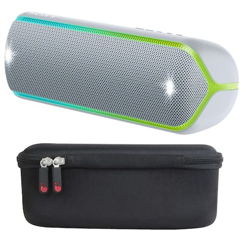 Sony SRS-XB32 Portable Bluetooth Speaker (Graphite) with Hard Case