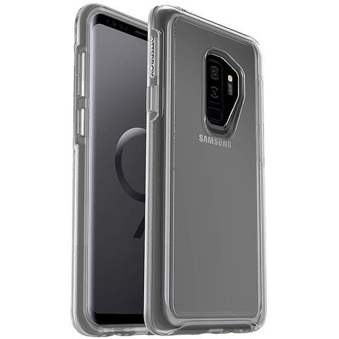 OtterBox Symmetry Clear Series Case & Alpha Glass Screen Protector for Samsung Galaxy S9 PLUS - Clear
