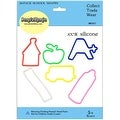 24 Pack School Silly Shaped Rubber Bands by BandzMania - Multi-Color - Thumbnail 0