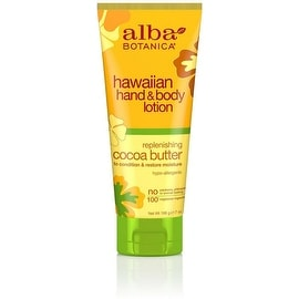 Alba Botanica Hawaiian Hand & Body Lotion, Replenishing Cocoa Butter 7 oz