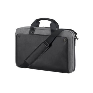 """Exec Blk Slim Top Load (fits up to 15.6"""") HP Executive Carrying Case for 15.6"""" Notebook - Black"""