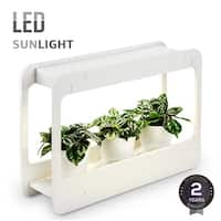 Plant Herb Grow LED Light Kit, Countertop Garden with Timer Function