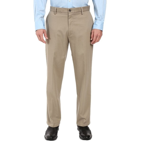 Dockers Mens Pants Beige Size 38x29 Flat Front Khakis Relaxed Stretch. Opens flyout.