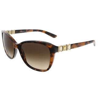 Versace VE4293B Havana Rectangular sunglasses