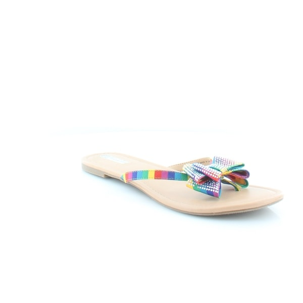 INC International Concepts Malissa Women's Sandals & Flip Flops Bright Multi