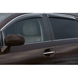WeatherTech Toyota Venza 2009-2015 Dark Smoke Front/Rear Side Window Deflector Set 82488 Series