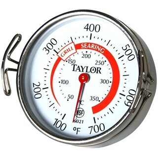 Taylor 6021 Grill Analog Thermometer, Multicolored