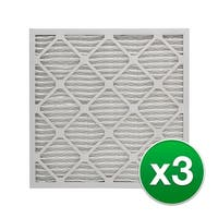 Replacement Pleated Air Filter for 20x25x4 Merv 11 (3-Pack)