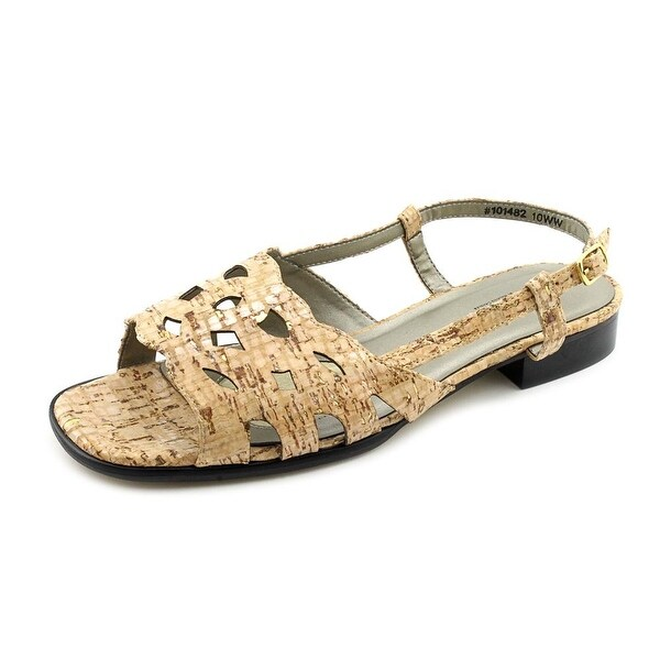 Mark Lemp By Walking Cradles Millie Women Gold Cork Sandals