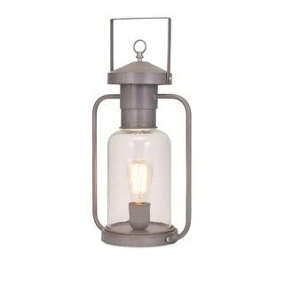 Gardiner Glass Lantern Table Lamp