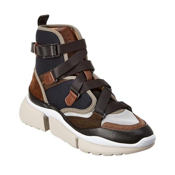 Mesh High-Top Sneaker