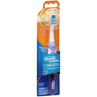 Oral-B CrossAction Dual Clean Power Toothbrush Soft 1 Each