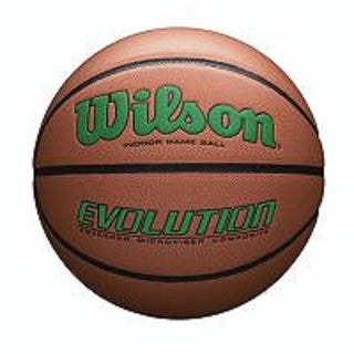 Wilson Evolution Official Size Game Basketball-Green - WTB0595XB0701