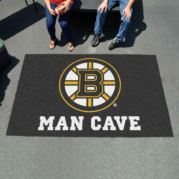 superior quality 1ab4c ff56d NHL - Boston Bruins Man Cave UltiMat 5 Feet x 8 Feet Rug