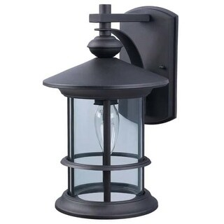 "Canarm IOL124 Treehouse Single Light 13"" High Outdoor Wall Sconce"