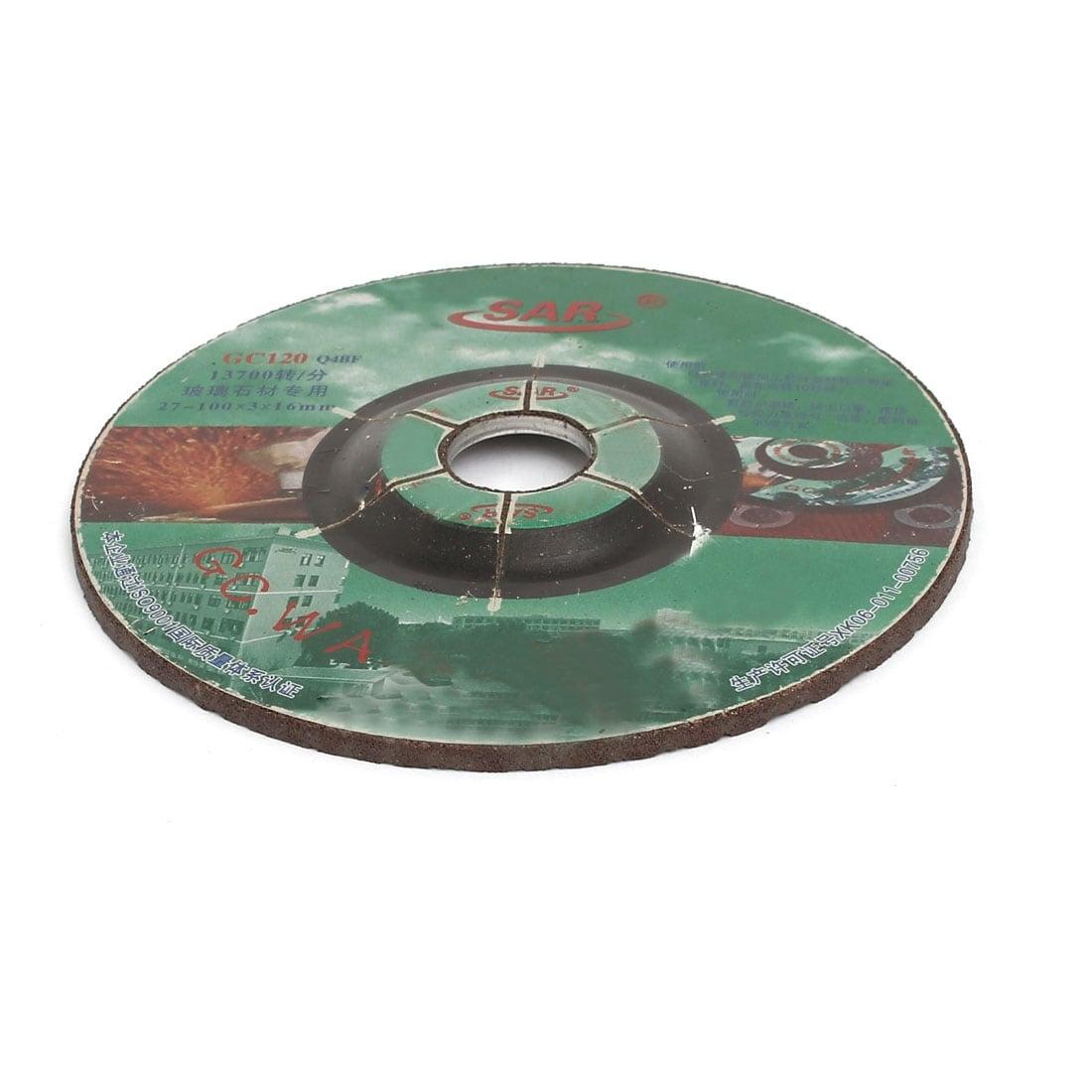 GC120 100mmx3mm Cutting Wheel Grinding Cut Off Disc Brown