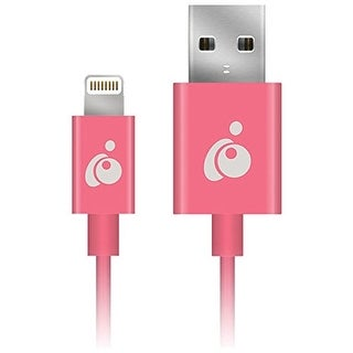 Iogear Grul01-Pk Charge & Sync Flip(Tm) Lightning(R) To Reversible Usb Cable, 3.3Ft (Pink)