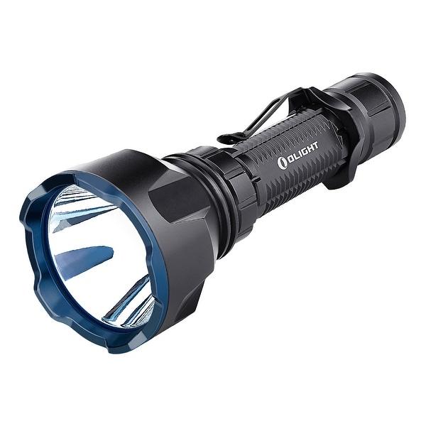 Olight Warrior X Turbo Black 1000 Yard Throw Rechargeable Flashlight. Opens flyout.