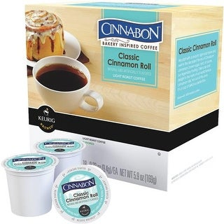 Keurig 18Ct Cinnabon K-Cup 120207 Unit: EACH