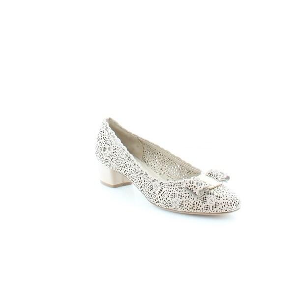 Salvatore Ferragamo Vara Women's Heels Macadamia - 7.5