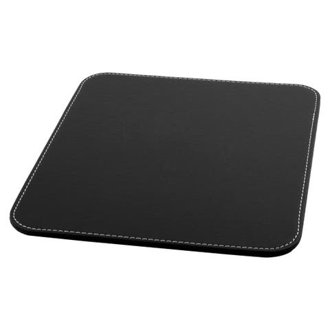 Computer Laptop Water Resistance Hard Non-slip Mat Test Gaming Mouse Pad Black