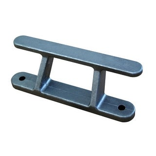 "Dock Edge Dock Builders Cleat-Angled Aluminum Rail Cleat-8"" - 2428-F"