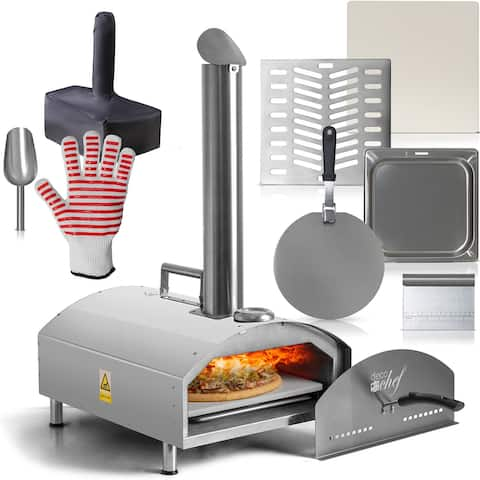 Deco Chef 2-in-1 Portable Outdoor Pizza Maker and Oven