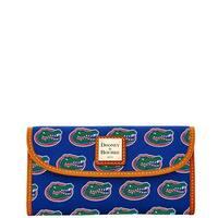 Dooney & Bourke NCAA Florida Continental Clutch Wallet (Introduced by Dooney & Bourke at $128 in Jan 2015)