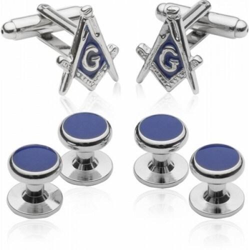 Silvertone Mason Formal Set Masonic