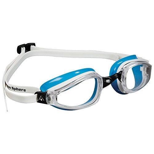 Us Divers - 173270 - K180ladygoggle Clearlens Wh Bl