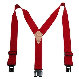 Perry Suspenders Men's Elastic Hook End Suspenders (Tall Available)