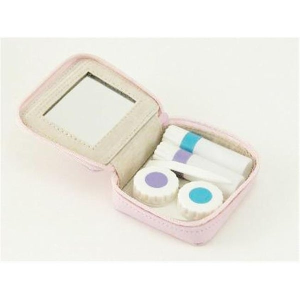 Creative Gifts International 2.5 x 3 in. Contact Lens Kit, Pink