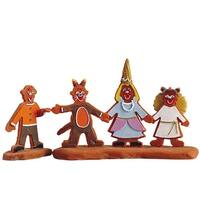 "Lemax Sugar 'N Spice Halloween Village ""All Lined Up"" 2-Piece #52083"