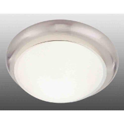 """Volume Lighting V7534 3 Light 16.5"""" Flush Mount Ceiling Fixture with White Glass"""