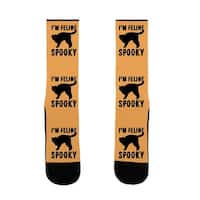 I'm Feline Spooky US Size 7-13 Socks by LookHUMAN