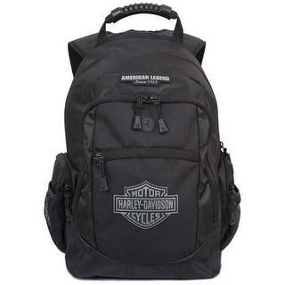 Harley Davidson Men S Classic Bar Sheild Backpack Black BP1932S BLACK Large